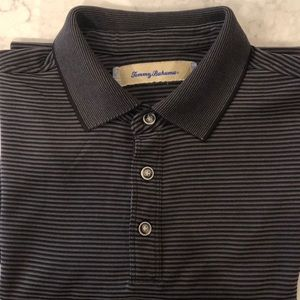 TOMMY BAHAMA 3 BUTTON POLO GOLF SHIRT M